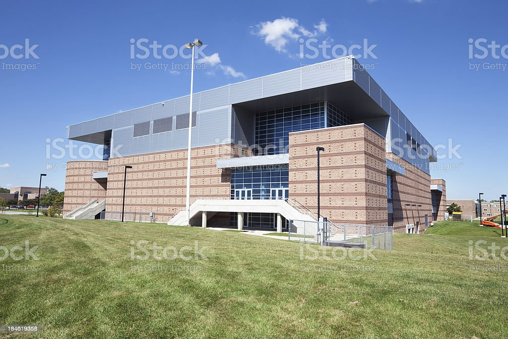 Convocation Center, Chicago State University Campus in Roseland stock photo