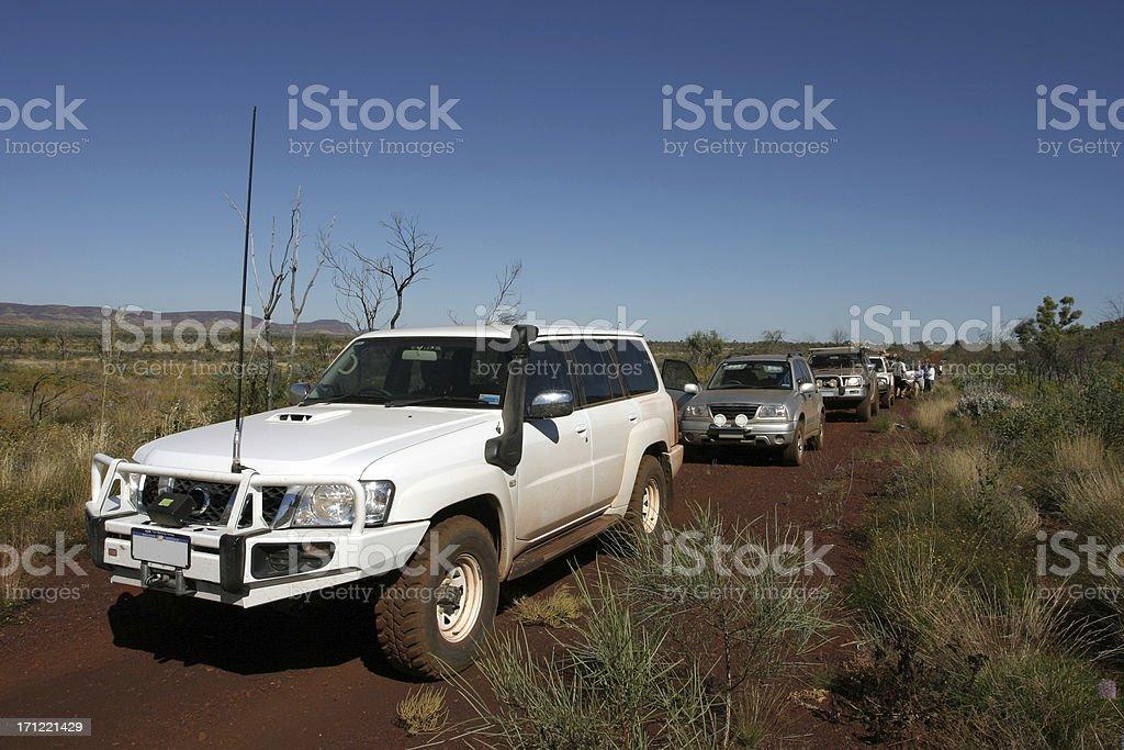 Convoy stock photo