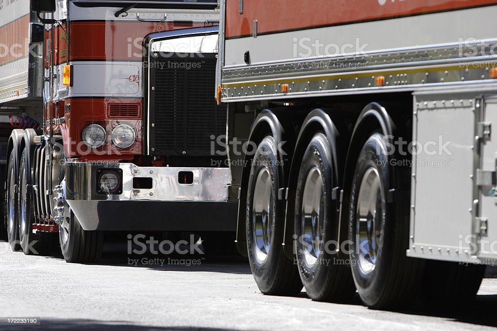 Convoy Wheels stock photo