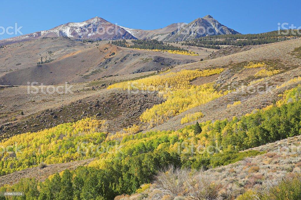 Conway Summit - Autumn stock photo