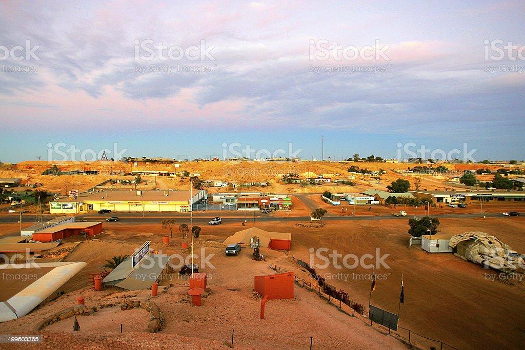 Coober Pedy, South Australia, Australia stock photo