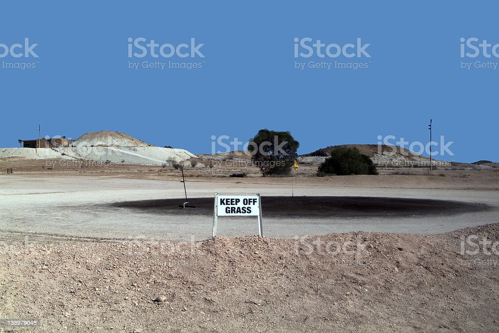 Coober Pedy, South Australia stock photo