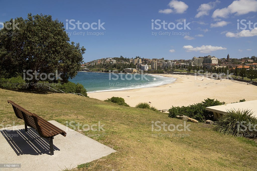 Coogee Beach royalty-free stock photo