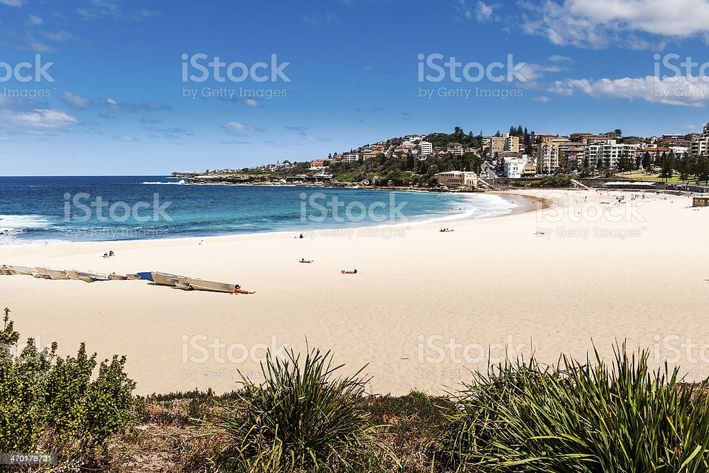 Coogee Beach stock photo