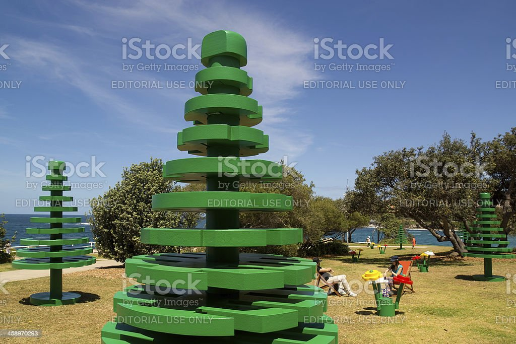 Coogee - Lego Forest stock photo