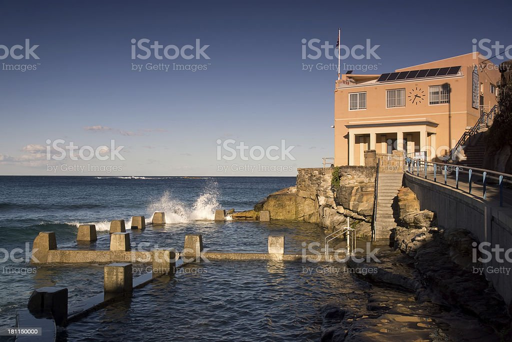 Coogee Ocean Pool royalty-free stock photo