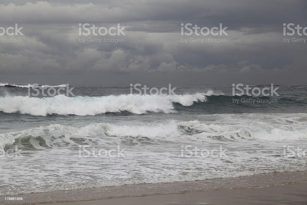 cooggee beach waves! stock photo