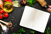 Cook book and cooking ingredients