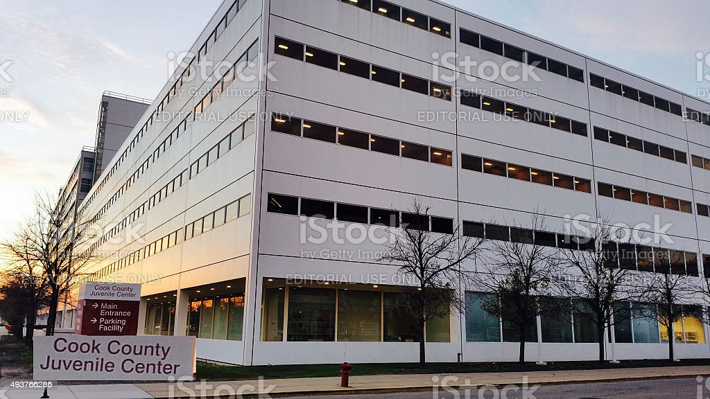 Cook County Juvenile Center stock photo