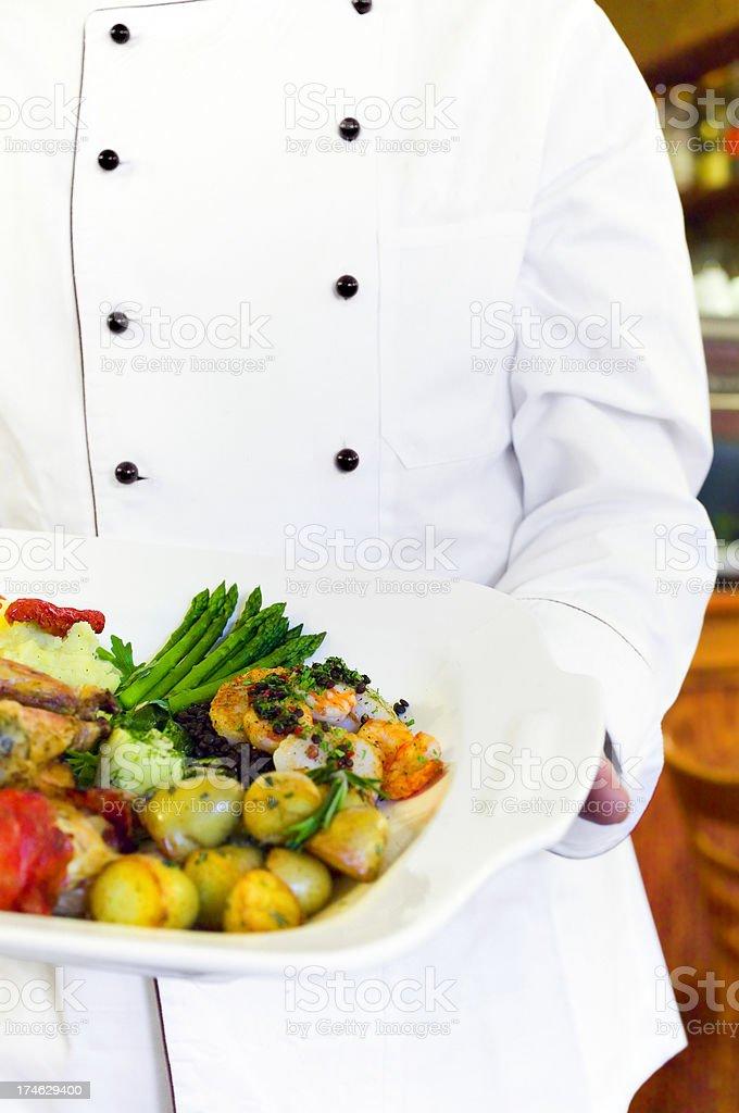 cook - Deli Restaurant royalty-free stock photo