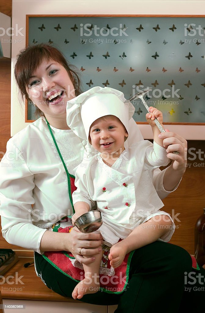 cook family royalty-free stock photo