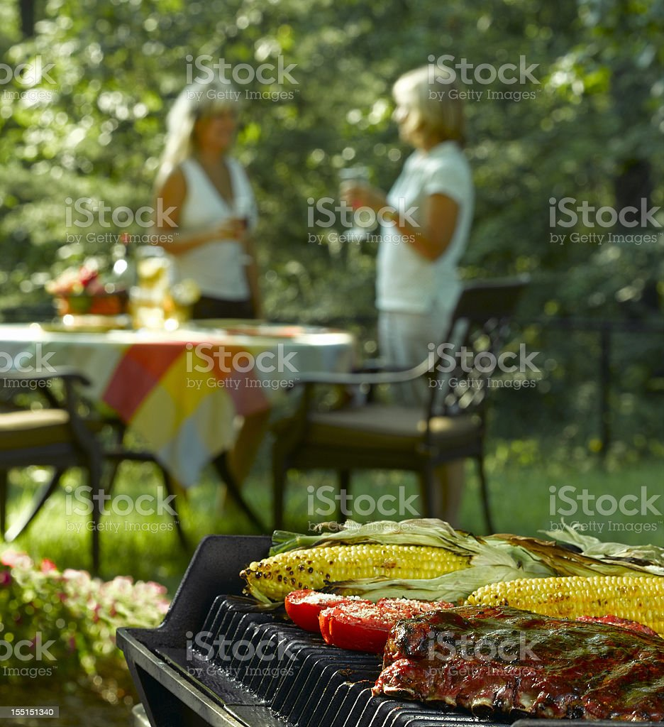 Cook Out stock photo