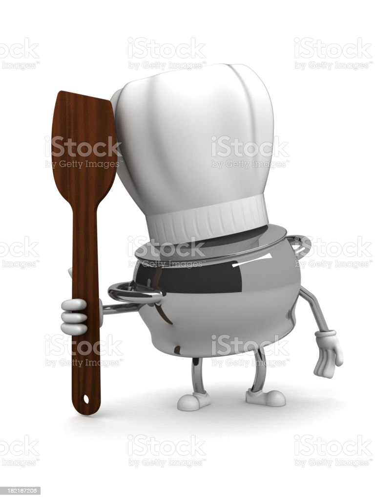 Cook royalty-free stock photo