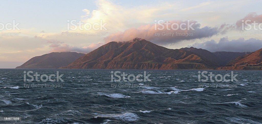 Cook Strait stock photo