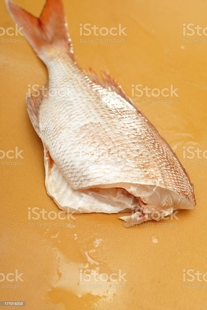 cook the fish 2 royalty-free stock photo