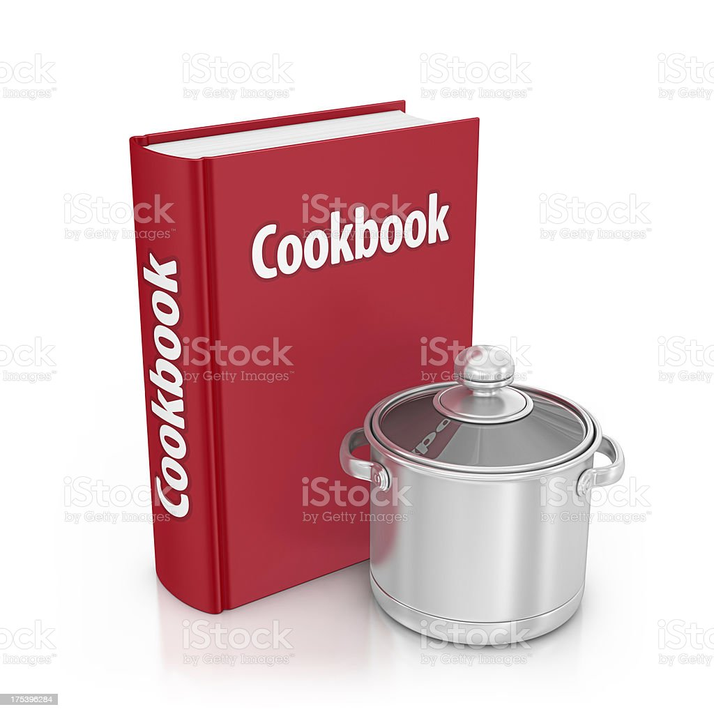 cookbook royalty-free stock photo