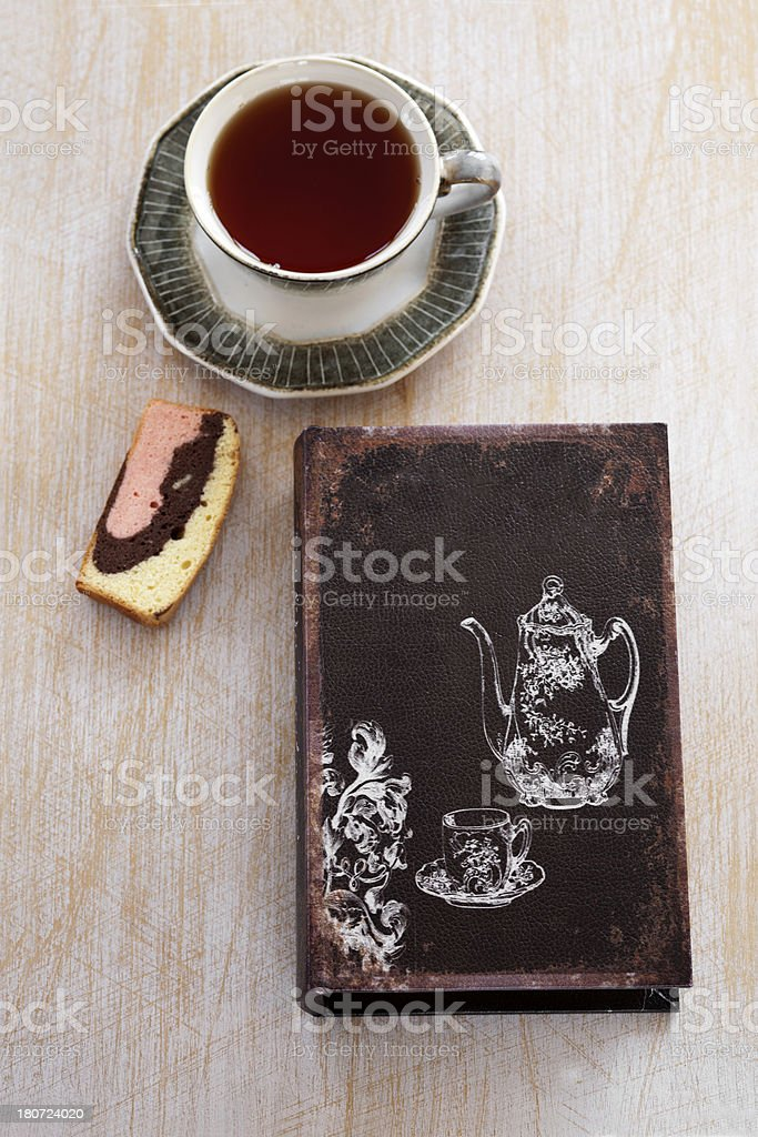 Cookbook royalty-free stock photo