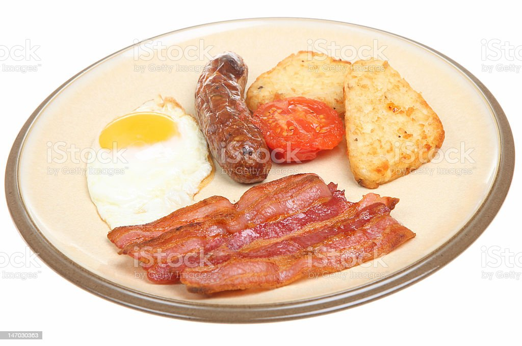 Cooked Breakfast royalty-free stock photo