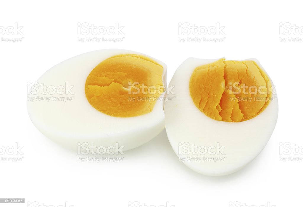 Cooked egg royalty-free stock photo