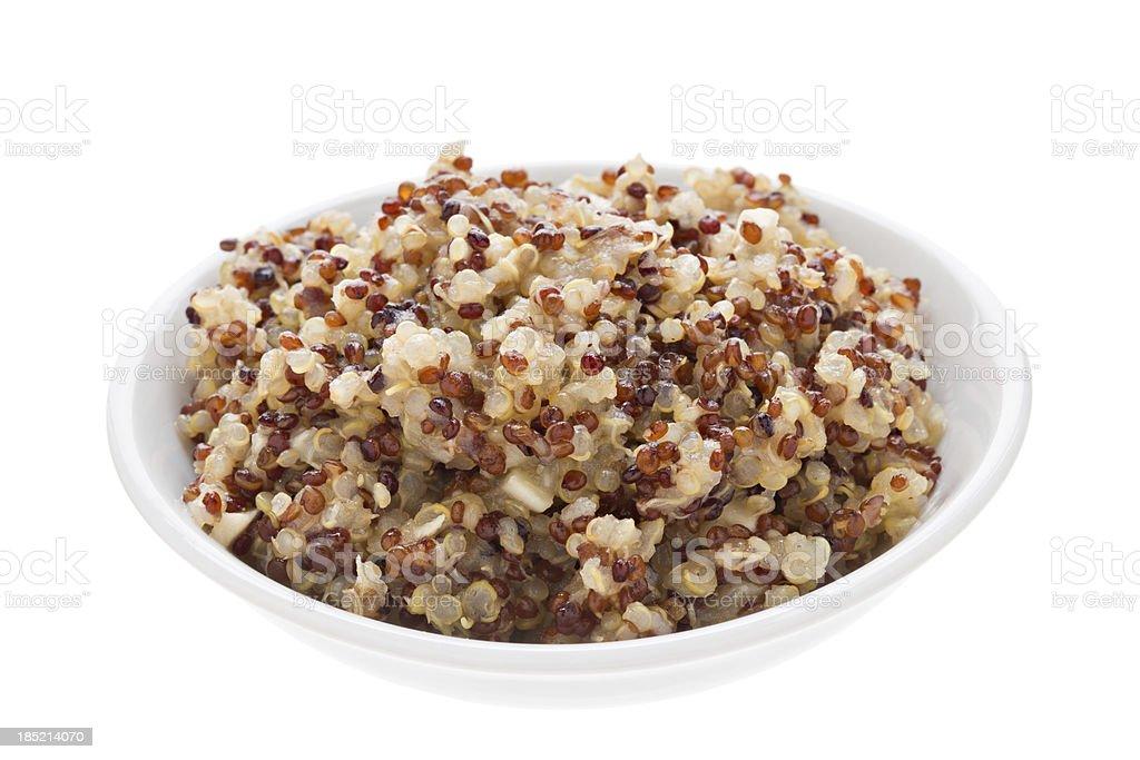 Cooked Quinoa stock photo