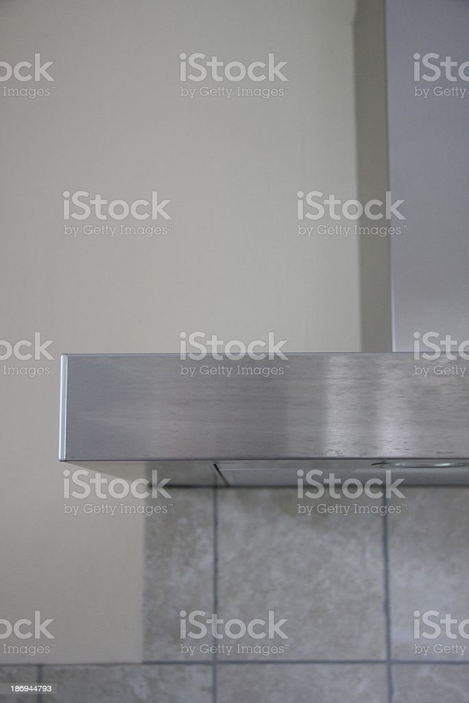cooker hood stock photo