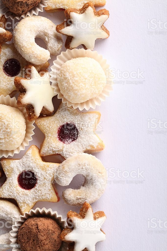 Cookie background royalty-free stock photo