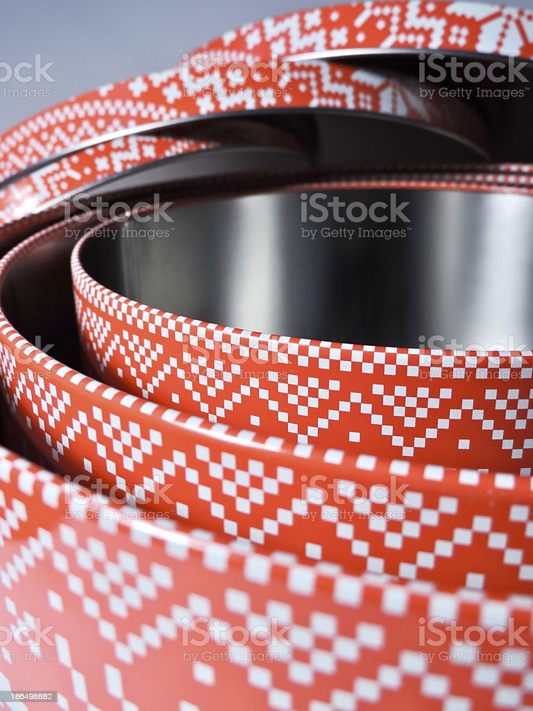 cookie boxes stock photo