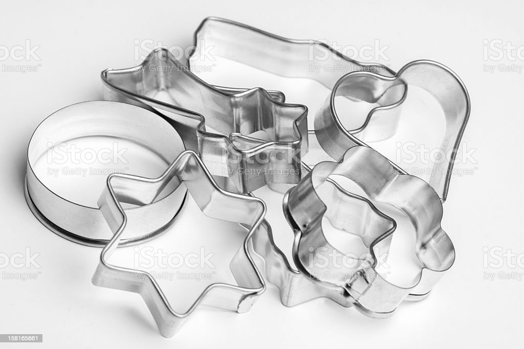 Cookie cutter stock photo