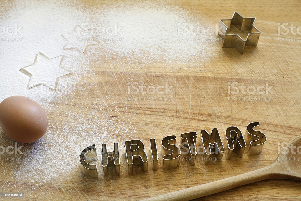 Cookie cutter_christmas royalty-free stock photo