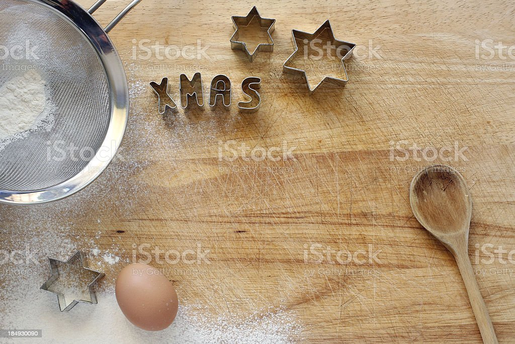 Cookie cutter_xmas royalty-free stock photo