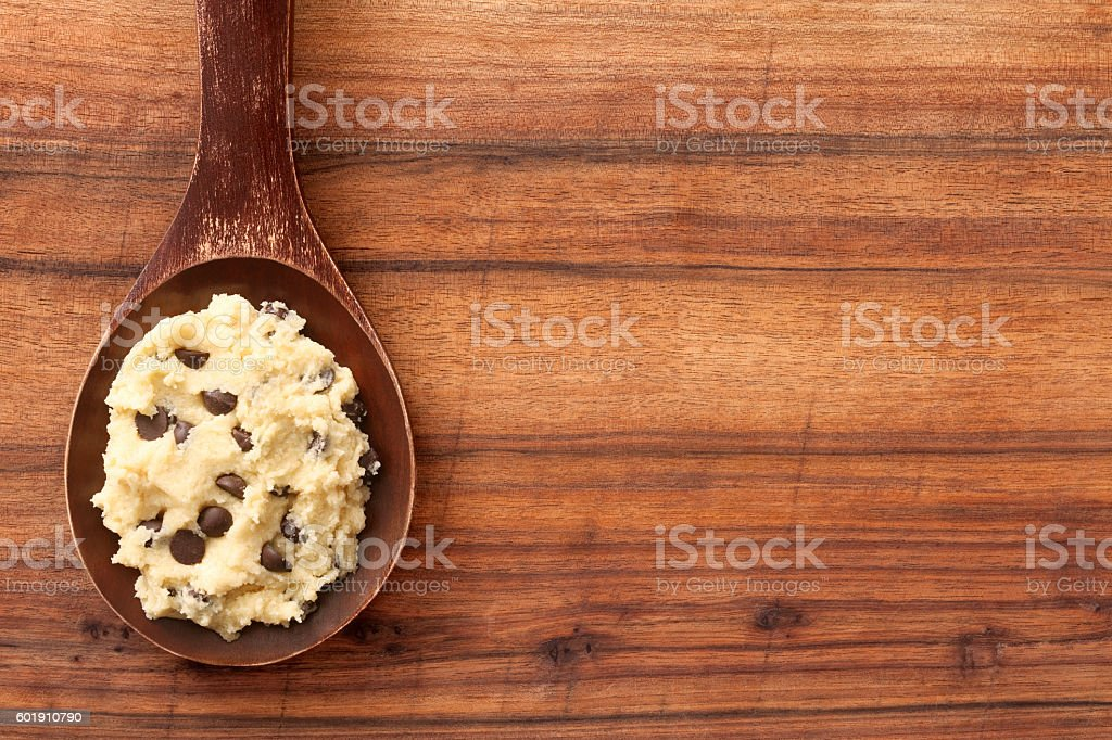 Cookie dough stock photo