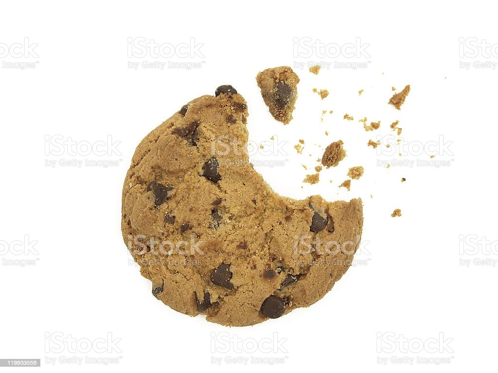 Cookie explosion stock photo