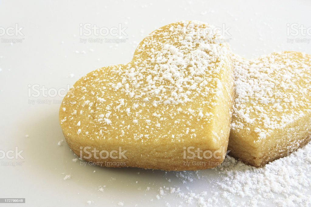 cookie hearts stock photo