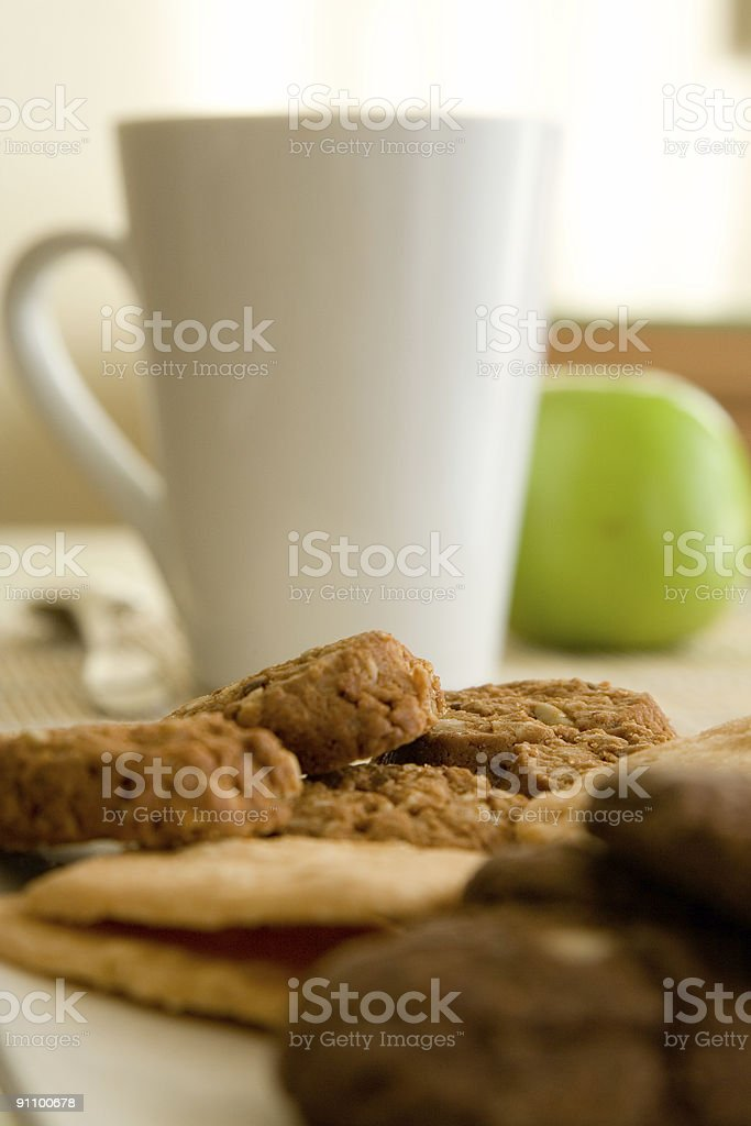 Cookie in the hotel stock photo