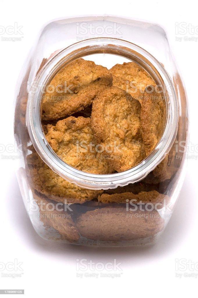 Cookie jar royalty-free stock photo