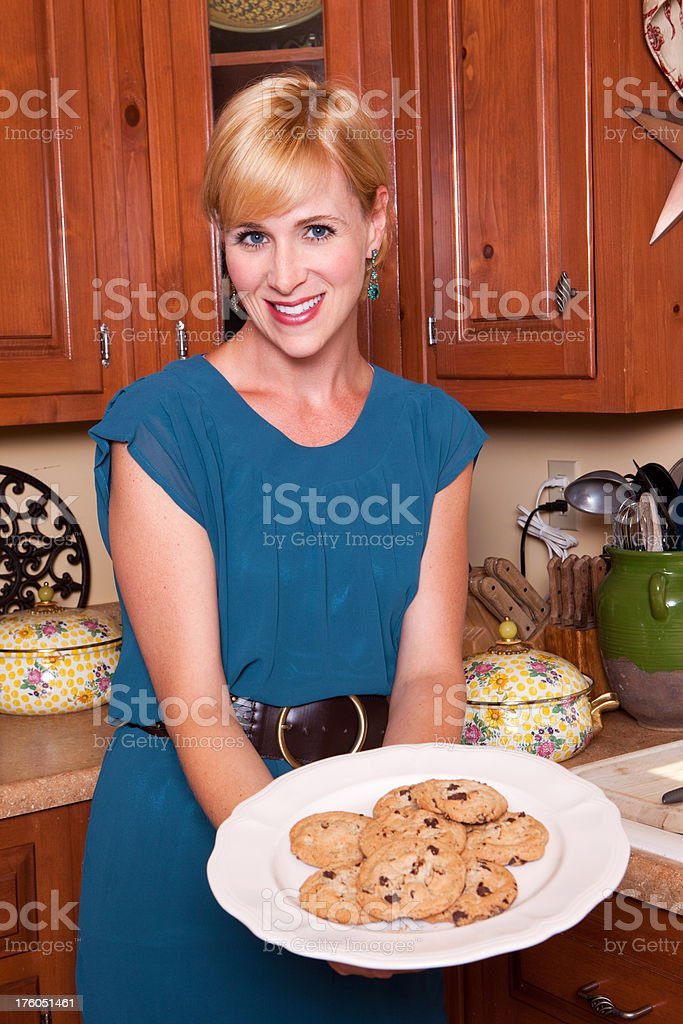 Cookie Mom royalty-free stock photo