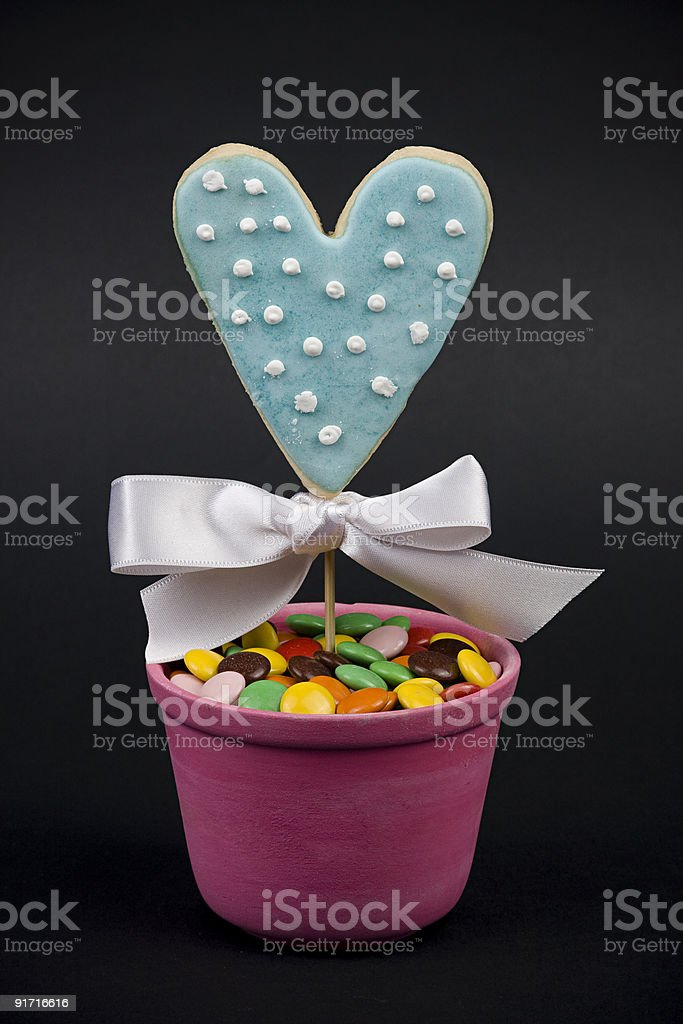 Cookie Of Love royalty-free stock photo