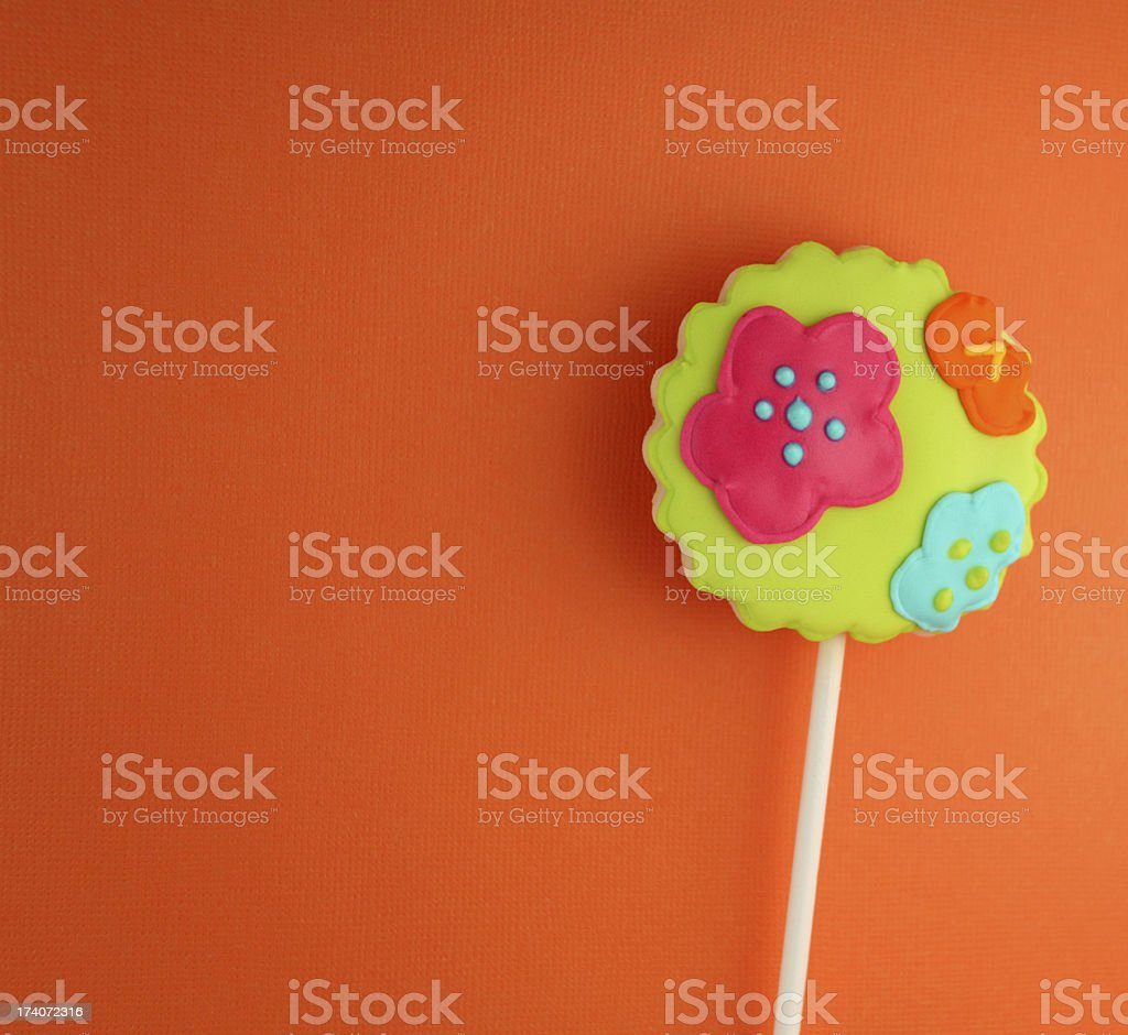 Cookie Pop royalty-free stock photo