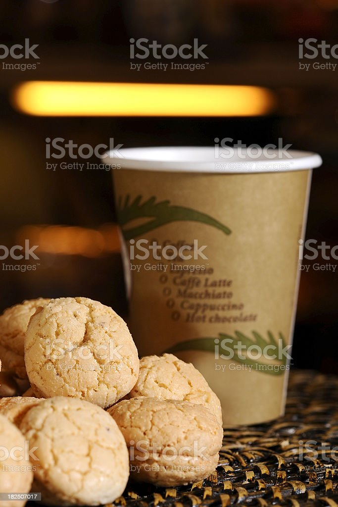 cookie serve royalty-free stock photo