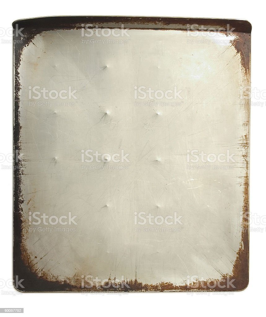 Cookie Sheet royalty-free stock photo