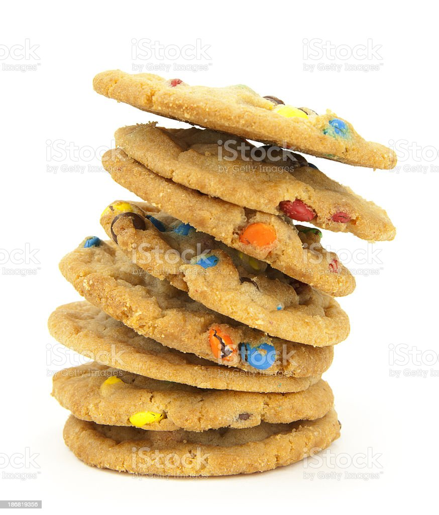 Cookie Stack royalty-free stock photo