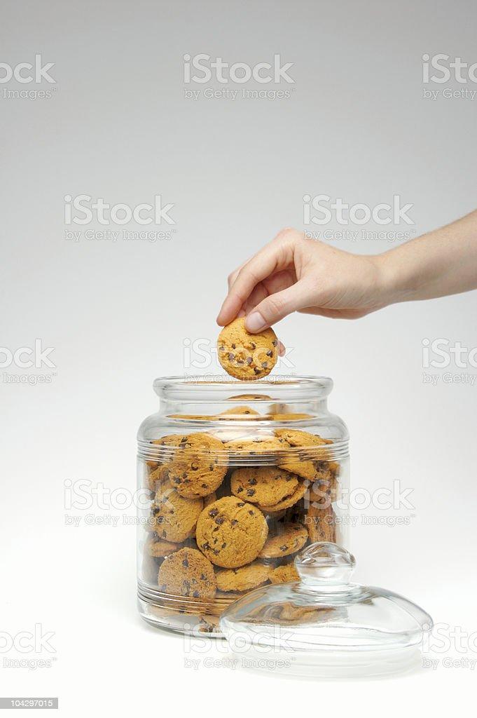 Cookie Dieb Lizenzfreies stock-foto