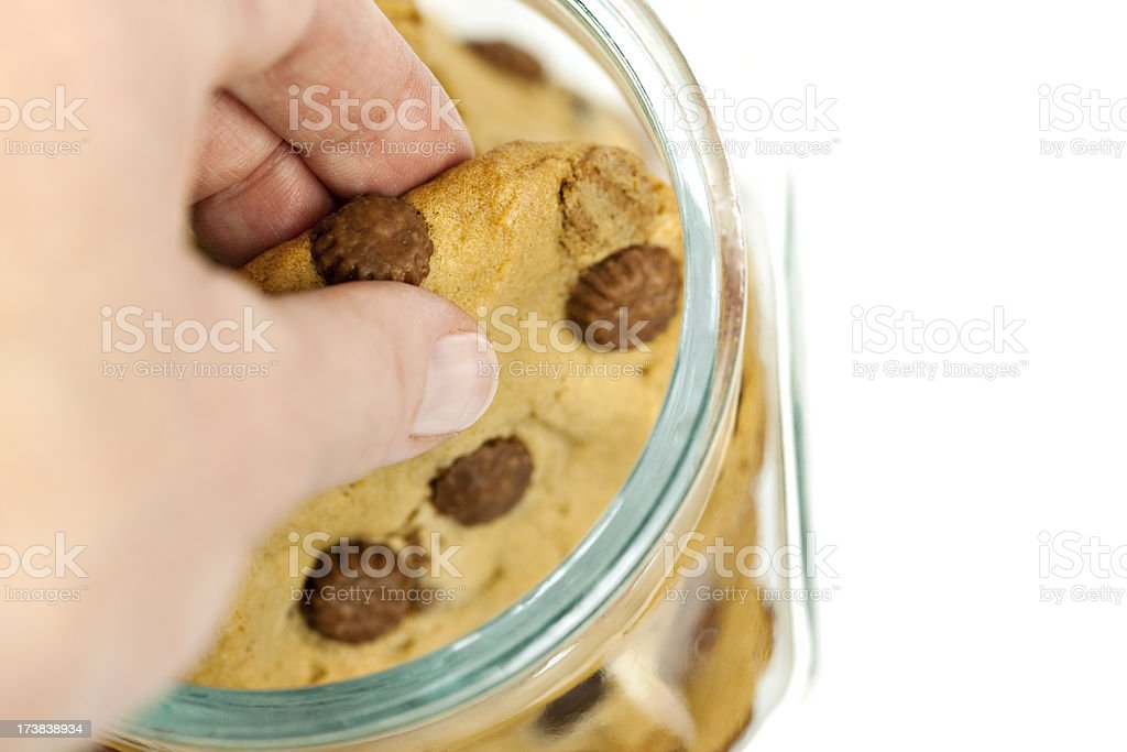 Cookie Thief royalty-free stock photo