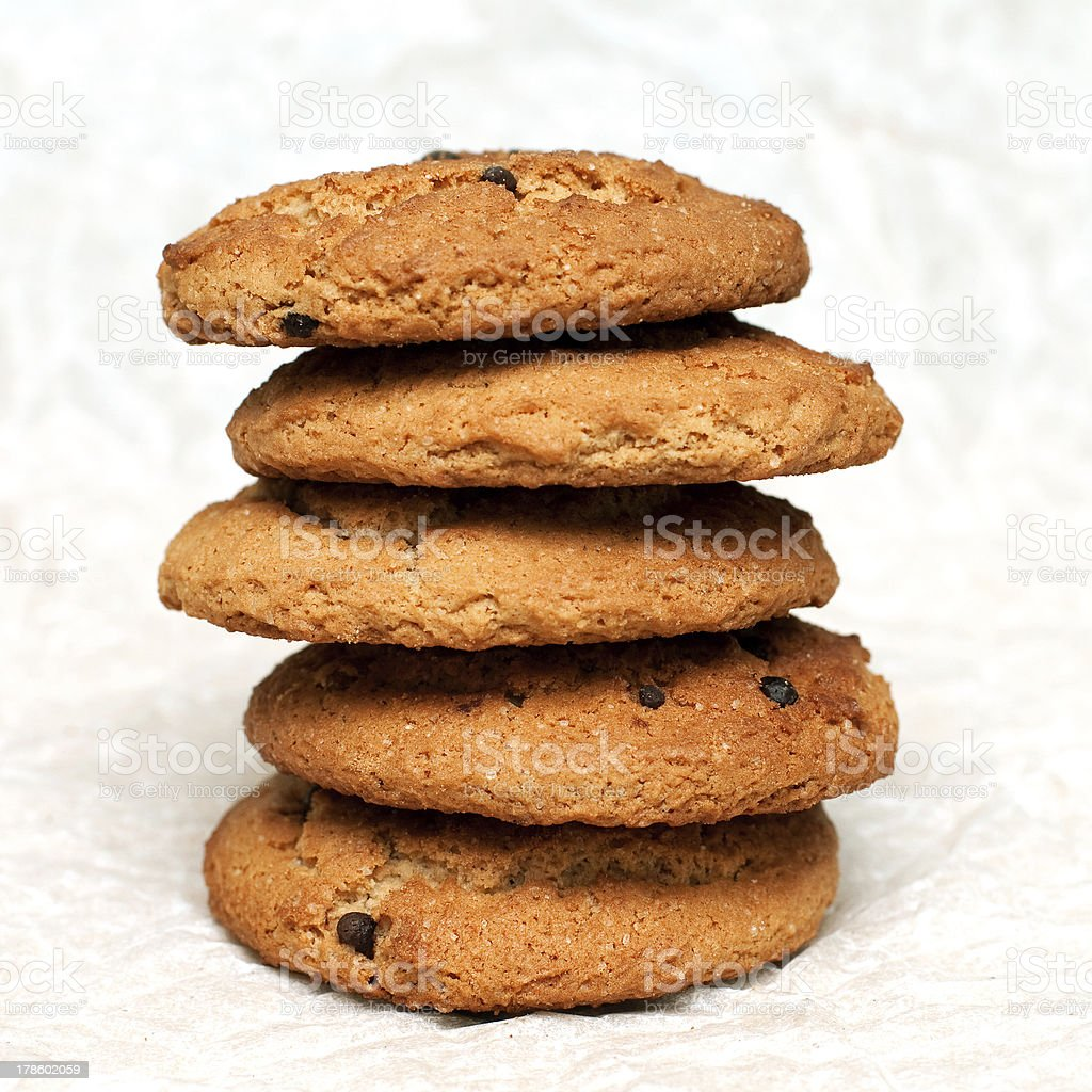 cookie tower photo libre de droits