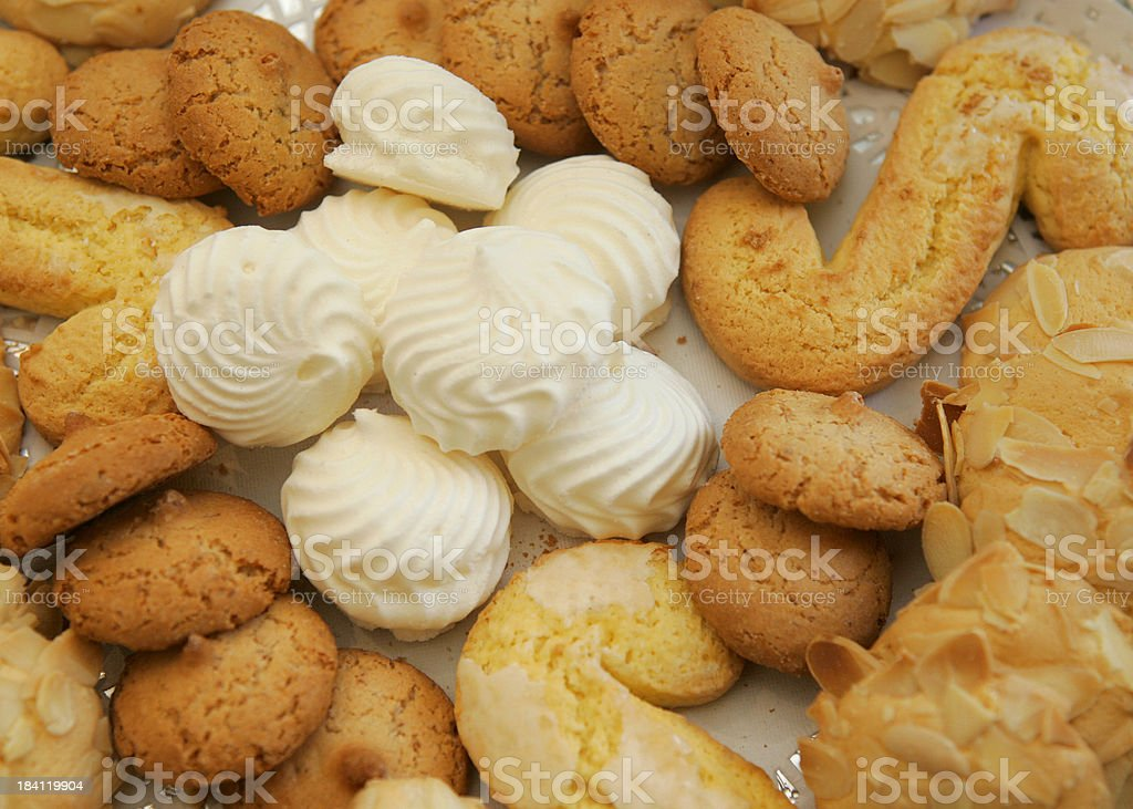 Cookie variety royalty-free stock photo
