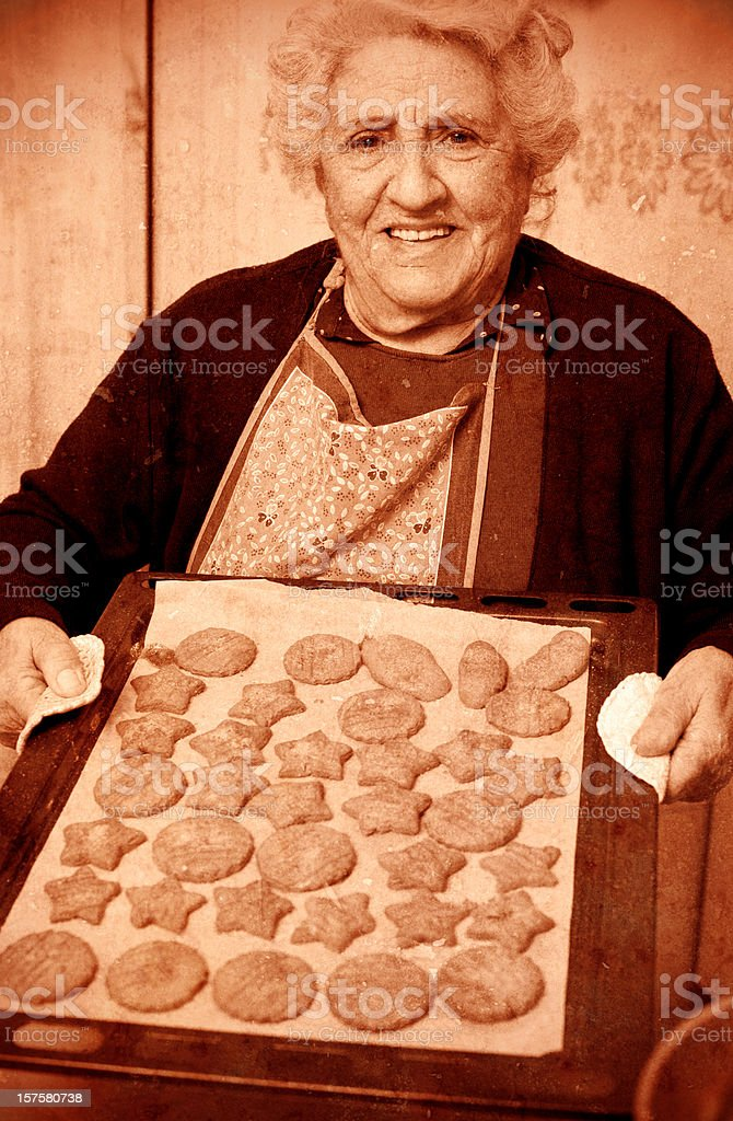 cookies are ready ! royalty-free stock photo