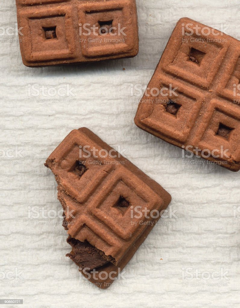 Cookies Disabled royalty-free stock photo