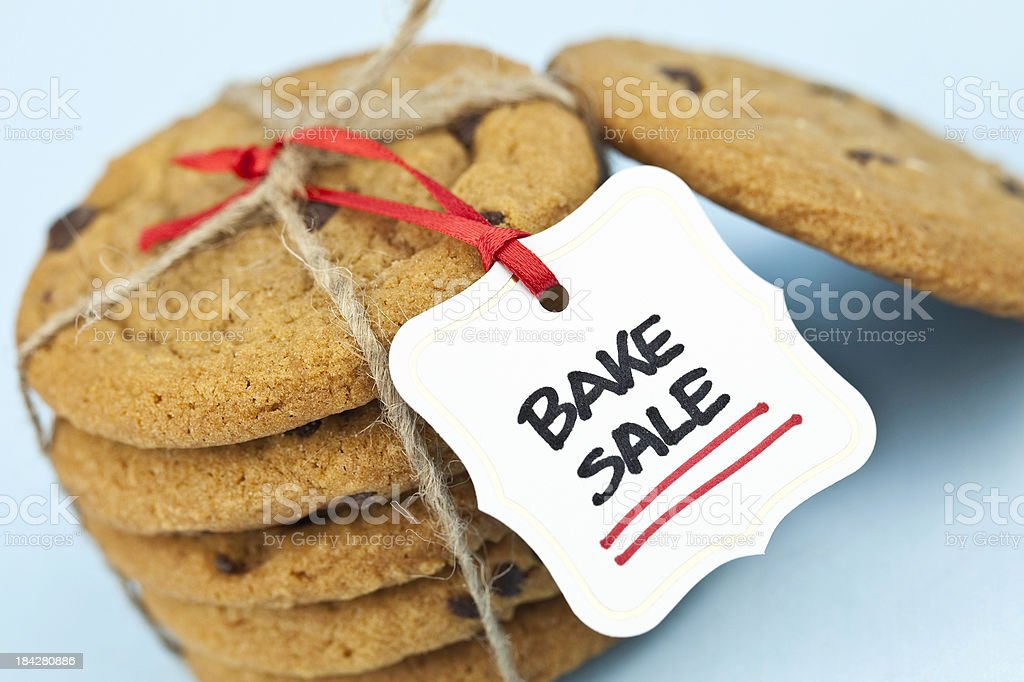 Cookies for Bake Sale stock photo