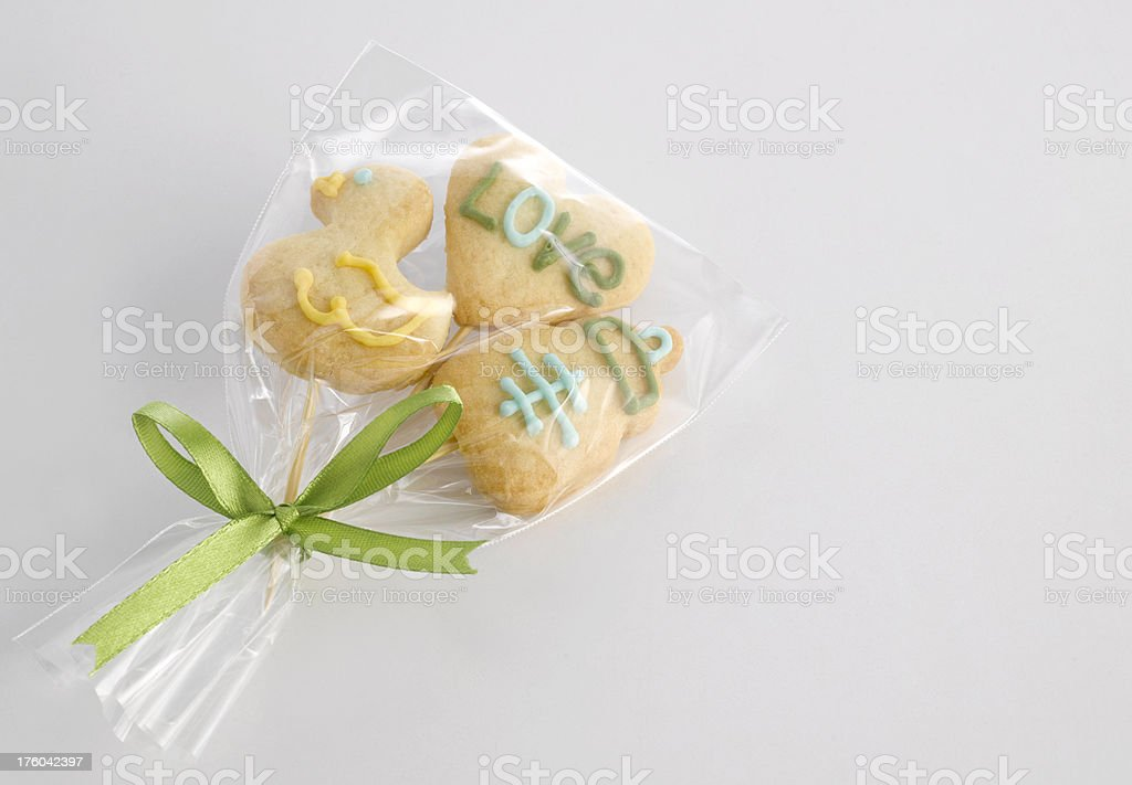 Cookies for Gift royalty-free stock photo