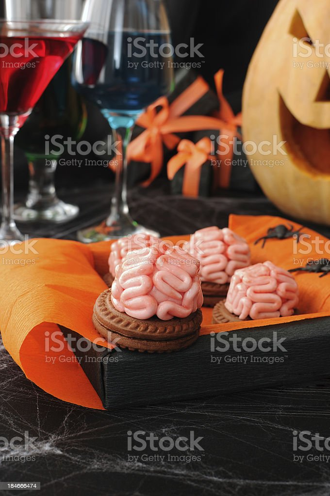 Cookies for Halloween royalty-free stock photo